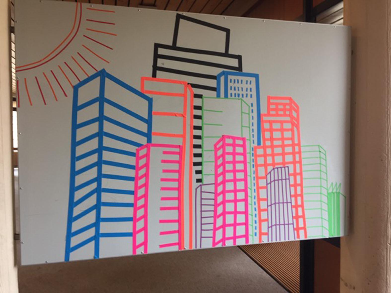 100 Tape Art Ideas Tape Art Washi Tape Wall Tape Wall Art
